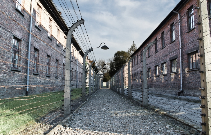 Photographs taken from a trip to the concentration camps in Auschwitz, Poland by Louis Fitzpatrick