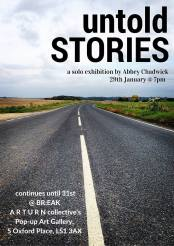 Untold Stories by Abby Chadwick.