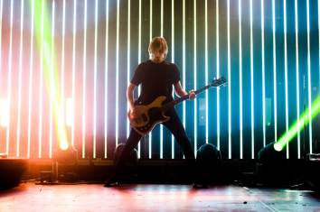 Matt Kean of Bring me the Horizon photographed by Erin Moore at Doncaster Dome