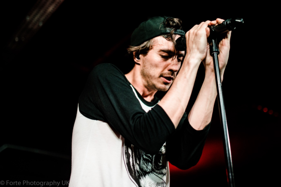 Gustav Wood of Young Guns photographed by Erin Moore at Warehouse 23 in Wakefield